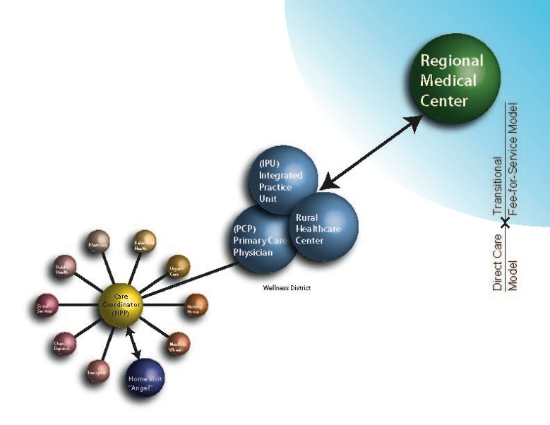 direct care model