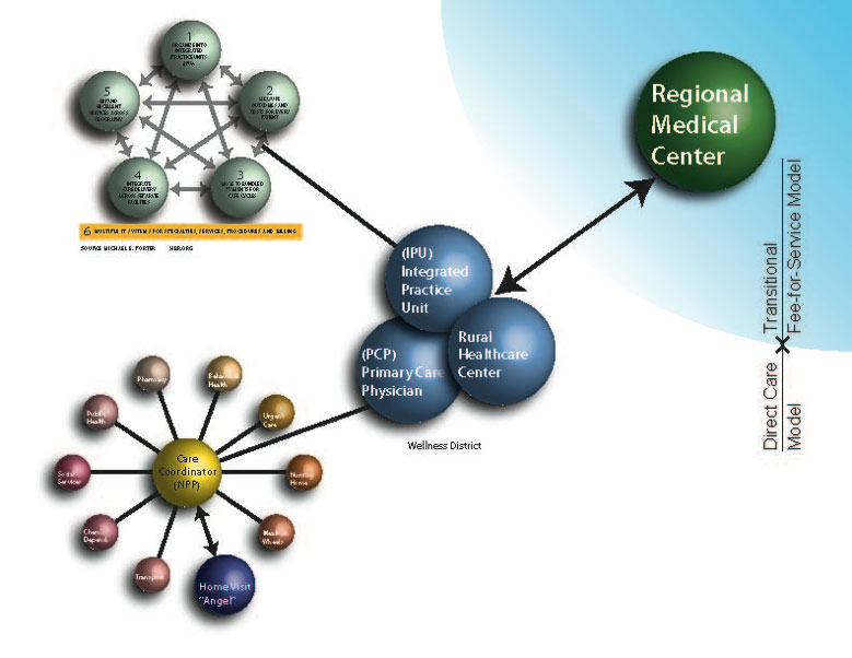 fee for service health care model